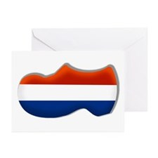 Dutch Clogs Greeting Cards (Pk of 10)