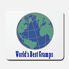 World's Best Gramps Mousepad