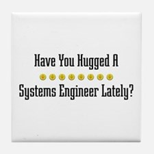 Hugged Systems Engineer Tile Coaster