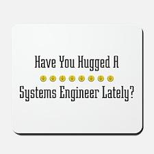 Hugged Systems Engineer Mousepad