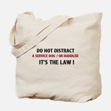 DO NOT DISTRACT Tote Bag