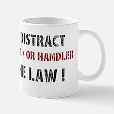 DO NOT DISTRACT Mugs