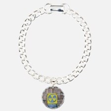 Fallout Shelter Sign Charm Bracelet, One Charm