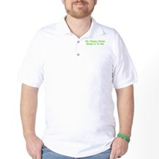 MY CHEMO NURSE STICKS IT TO ME T-Shirt