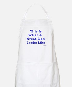Great Dad Looks Like This BBQ Apron