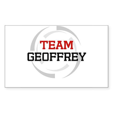 Geoffrey Rectangle Sticker