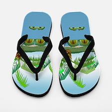 Big Croc Flip Flops