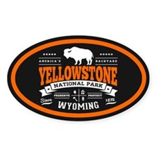 Yellowstone Vintage Bumper Stickers