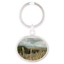 Datu Candle Cactus Fence (Ritterocer Oval Keychain