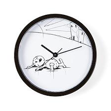Urban Scrawl Wall Clock