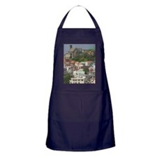 Town & Harbor View with Lucas Streetw Apron (dark)