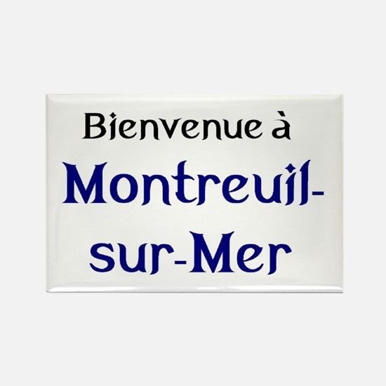 montreuil Rectangle Magnet