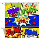 Comic Shower Curtains