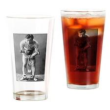 Harry Houdini Drinking Glass