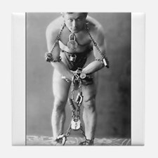 Harry Houdini Tile Coaster