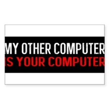 Other Computer is Your Computer BS Decal