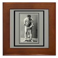 Harry Houdini Framed Tile