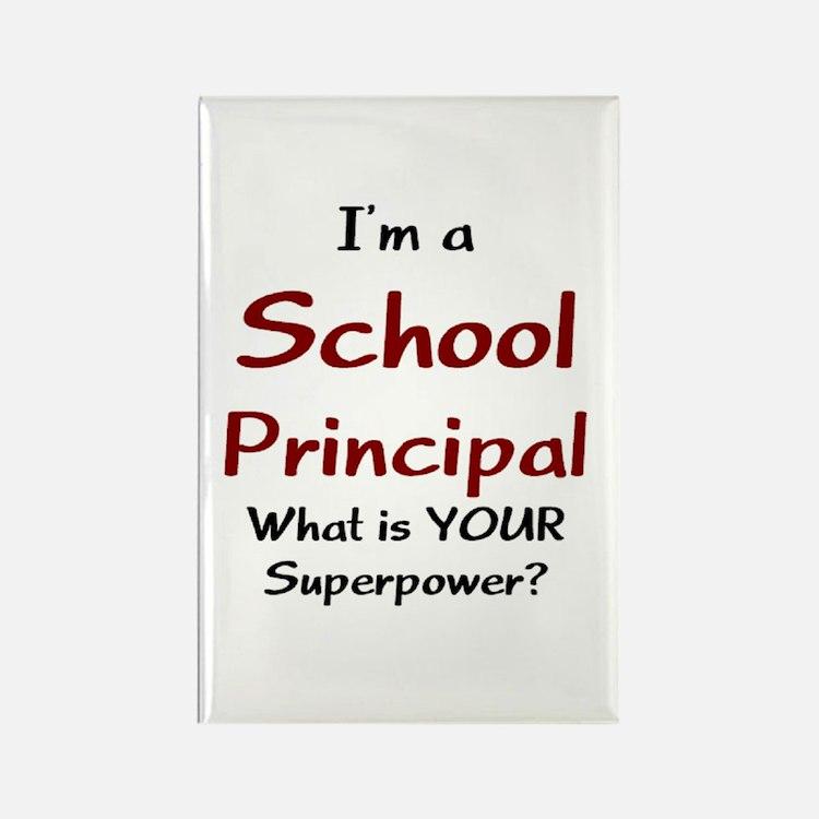 school principal Rectangle Magnet
