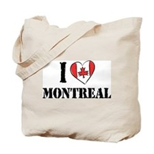 I Love Montreal Tote Bag