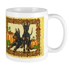 Autumn Toy Manchester Terriers Mug