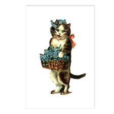 Victorian Cat Postcards (Package of 8)