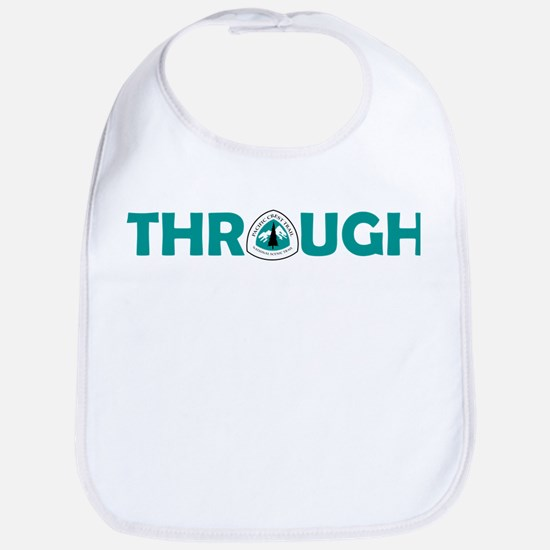 Pacific Crest Trail Through Hike Baby Bib