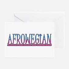 Afrowegian Greeting Cards (Pk of 10)