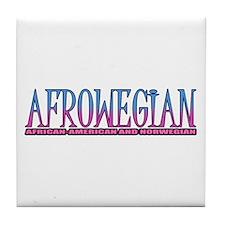 Afrowegian Tile Coaster