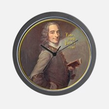 Voltaire Truth Wall Clock