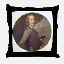 Voltaire Truth Throw Pillow