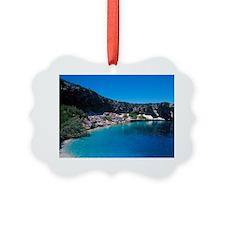 Blue Hole, Long Island, Bahamas. Ornament