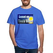 Sunset On Siesta Beach T-Shirt