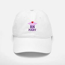RN Pink Caduceus with purple letters Baseball Baseball Baseball Cap