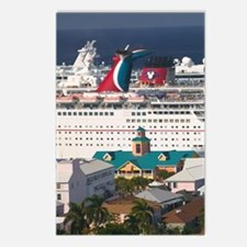Nassau: City View & Cruis Postcards (Package of 8)