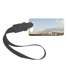 Queen Emma Bridge swinging acros Luggage Tag