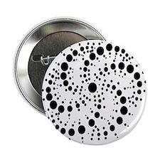 "Harmonic Spiral Crop Circle 2.25"" Button (100 pack"