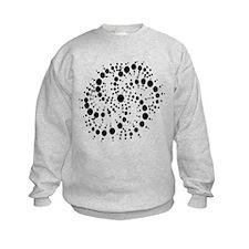 Harmonic Spiral Crop Circle Sweatshirt