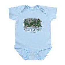 Sierra Nevada Mountain Range Body Suit