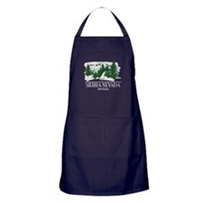Sierra Nevada Mountain Range Apron (dark)