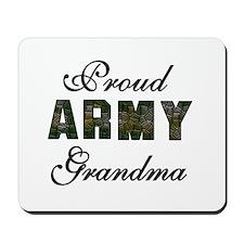 Proud Army Grandma Mousepad