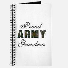 Proud Army Grandma Journal