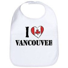 I Love Vancouver Bib