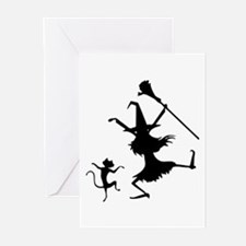 Dance Off Greeting Cards