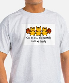 One by One The Squirrels T-Shirt