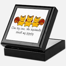 Cute Squirrel funny Keepsake Box