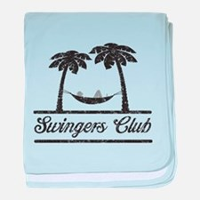 Swingers club T-shirts baby blanket