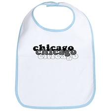 Chicago White Bib