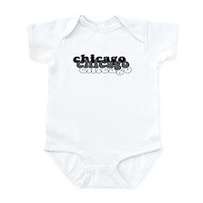 Chicago White Infant Bodysuit