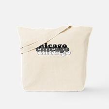 Chicago White Tote Bag