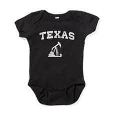 Texas oil Baby Bodysuit